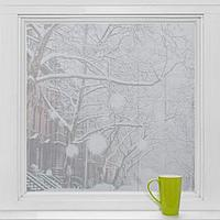 Витражная плёнка «Плитка», 45×200 см, цвет прозрачный
