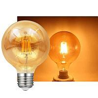 LED ретро лампа G125 12W Filament, фото 1
