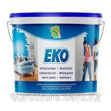 Эмульсия Радуга ЭКО акриловая для стен и потолков 14 кг снежно-белая