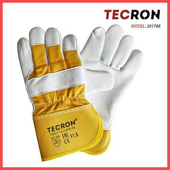 Перчатки комбинированные  летние TECRON™ 201788 из натуральной овечьей кожи