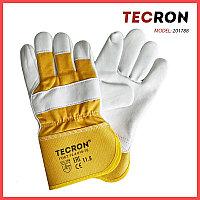 Перчатки комбинированные летние TECRON 201788 из натуральной овечьей кожи