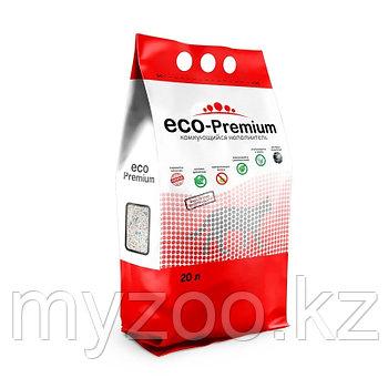 ECO-Premium нейтрал, 20 л |Эко-премиум комкующийся древесный наполнитель|