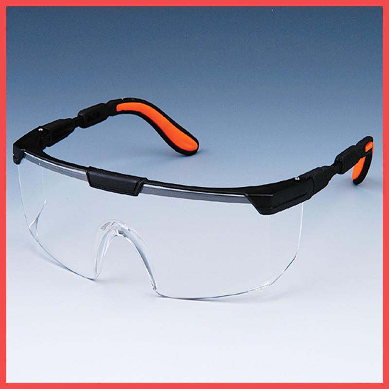 Очки защитные Workers (черная оправа, прозрачные линзы)