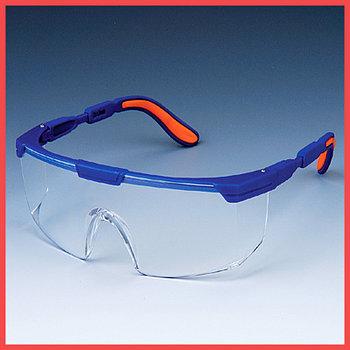 Очки защитные Workers (синяя оправа, прозрачные линзы)