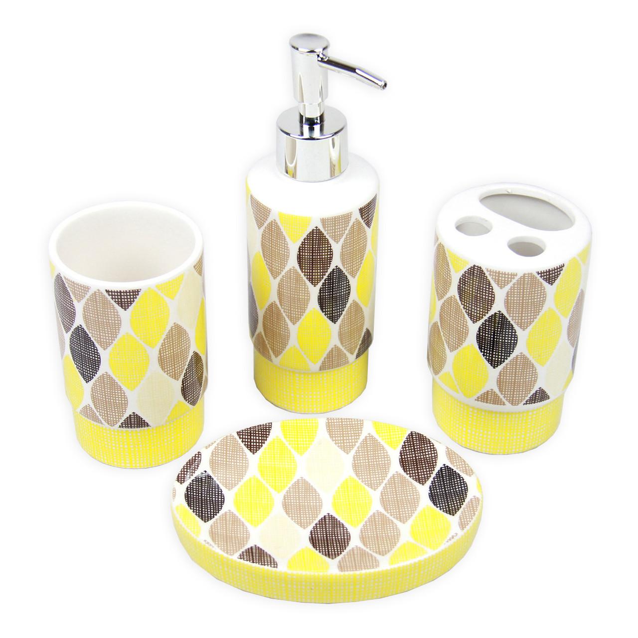 """Керамический набор для ванной комнаты """"Элисон"""" GL5037"""