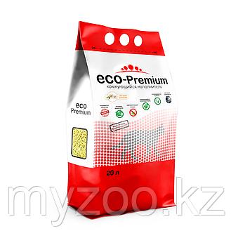 ECO-Premium ромашка, 20 л |Эко-премиум комкующийся древесный наполнитель|