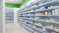 Стеллажи для аптек в Астане