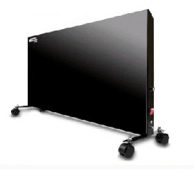 Электронагревательная панель СТН черная (700Вт) с механическим терморегулятором (колесики)