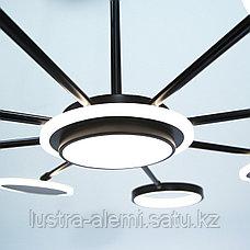 Люстра ЛЭД 5053/8 BK LED, фото 2