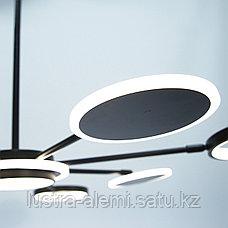 Люстра ЛЭД 5053/8 BK LED, фото 3
