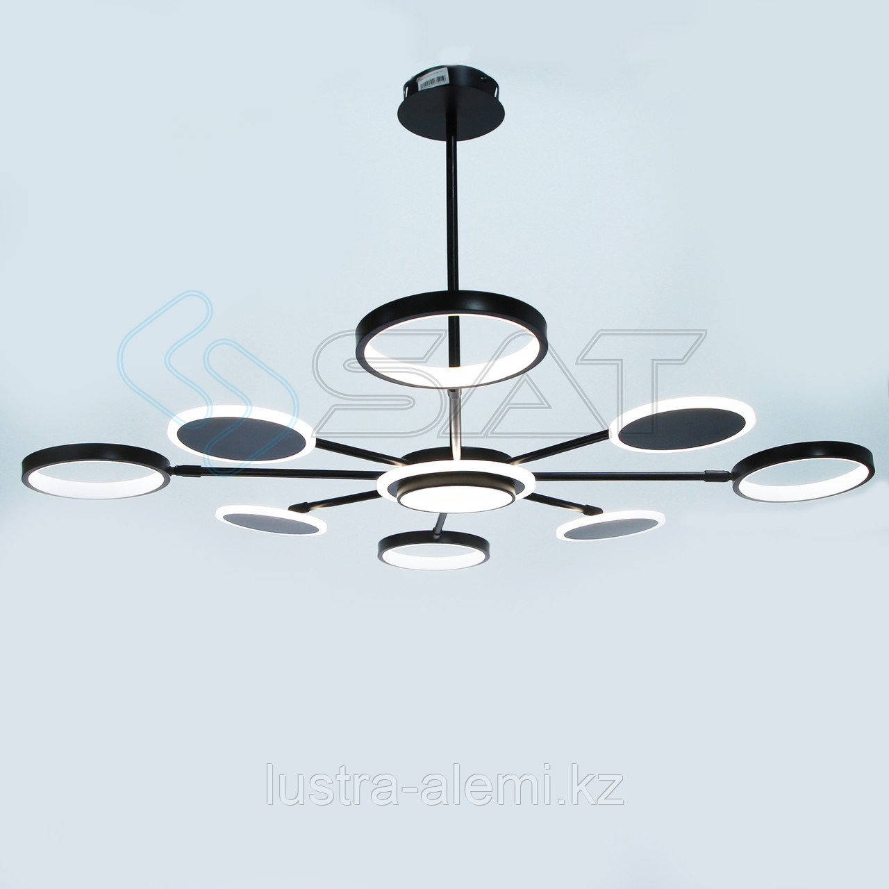 Люстра ЛЭД 5053/8 BK LED