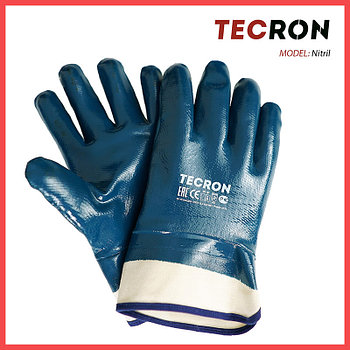Нитриловые перчатки-краги TECRON™ Nitril
