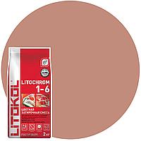 LITOCHROM 1-6 C.90 кр.-коричневая-затир.смесь (2kg Al.bag) 8 шт, фото 1