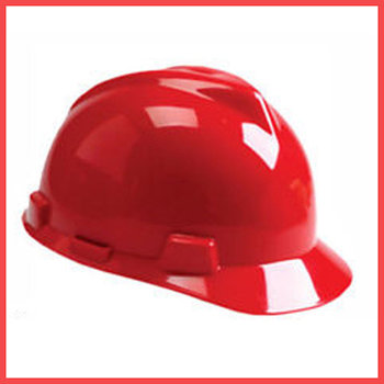 Каски защитные MSA V Guard Красный
