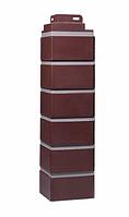 Угол наружный Жжёный 485х119х119 мм Кирпич клинкерный ДАЧНЫЙ FINEBER