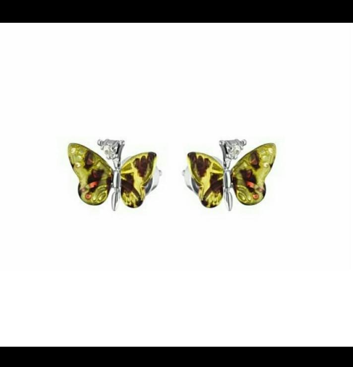 """Пусеты """"Monarch Batterfly"""" Roberto Bravo"""