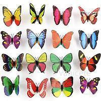 Магнит бабочки 10шт (4008)
