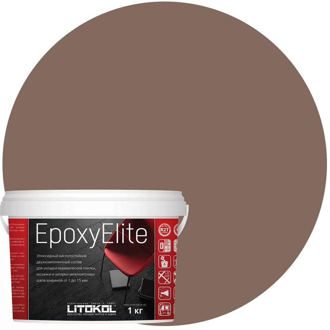 EpoxyElite E.12 ТАБАЧНЫЙ эпоксидный состав для укладки и затирки моз. и керам. плит (1,0 kg)