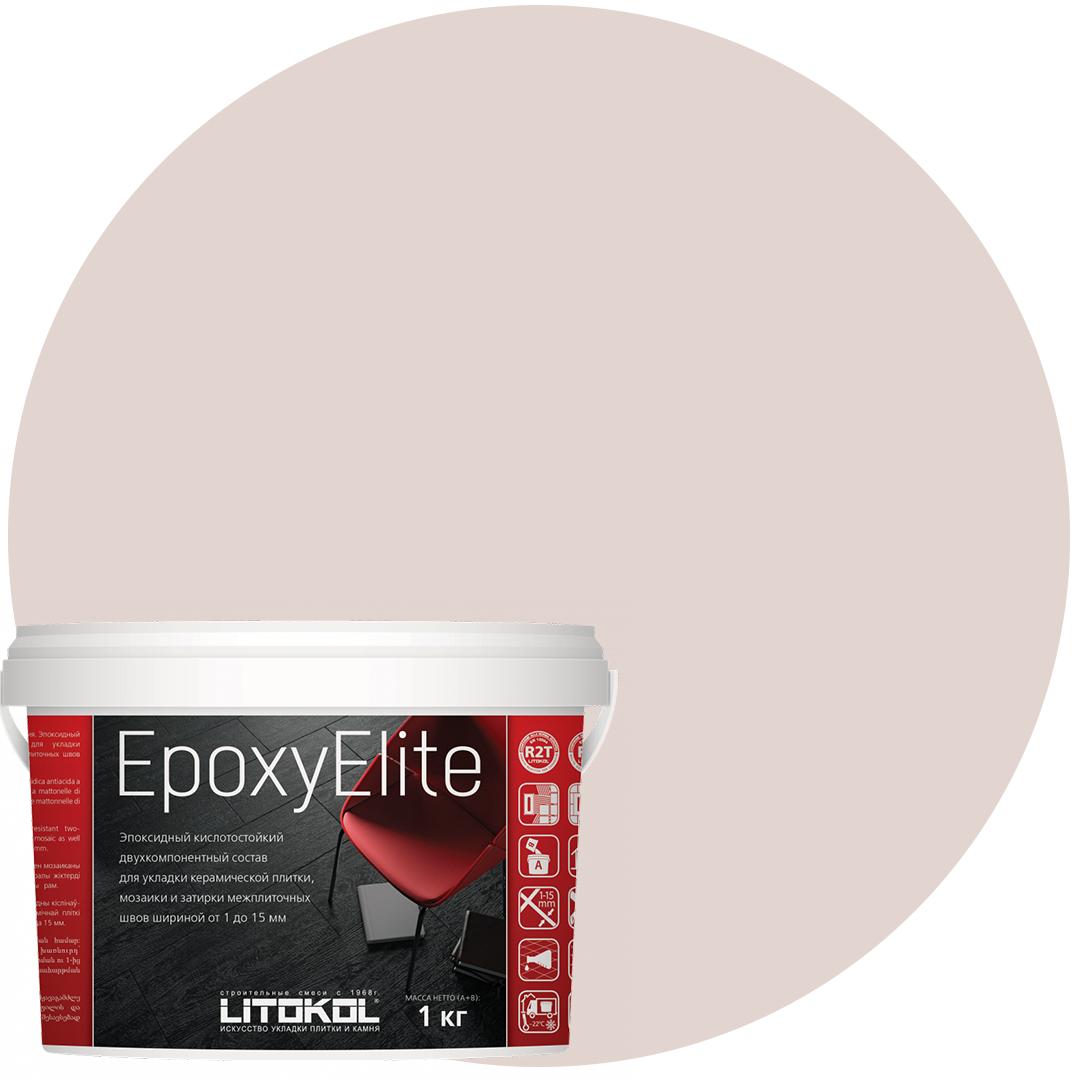EpoxyElite E.08 БИСКВИТ эпоксидный состав для укладки и затирки моз. и керам плит (1,0 kg)