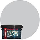 STARLIKE Defender EVO S.105 BIANCO TITANIO эпок.сост.для уклад и затир мозаи и керами. плит(1,0 kg)