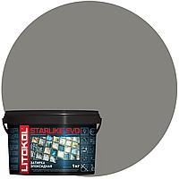 STARLIKE Defender EVO S.115 GRIGIO SETA эпок.сост.для уклад и затир мозаи и керами. плит(1,0 kg), фото 1