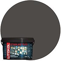 STARLIKE Defender EVO S.145 NERO CARBONIO эпок сост для уклад и затир моз и керам плит (1,0 kg), фото 1