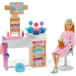Barbie Оздоровительный Спа салон Барби GJR84