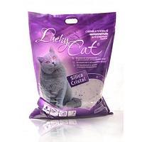 Впитывающий наполнитель Lucky Cat для туалета кошек (Сакура) - 7.6 л
