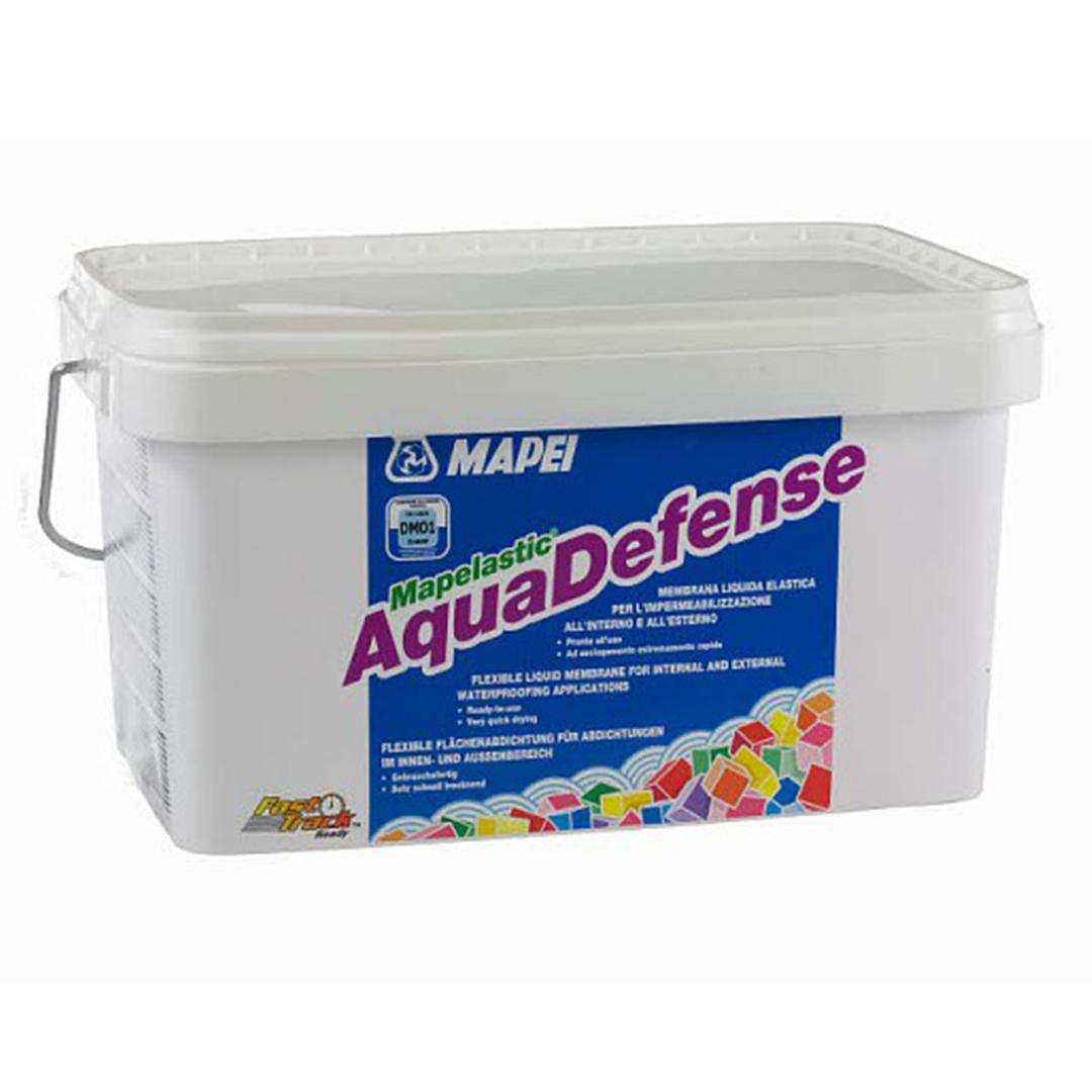 Mapelastic Aquadefense 7,5 кг гидроизоляционный состав для ванных комнат