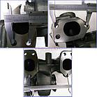 Турбокомпрессор (турбина), (титановый вал) на / для DAF, ДАФ, XF 105, EURO 5, MX300/ MX340 MASTER POWER 802778, фото 6
