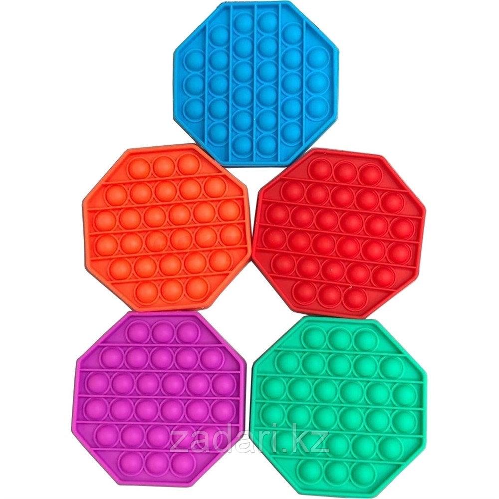 Антистрессовая игрушка «Pop it» многогранник однотонный