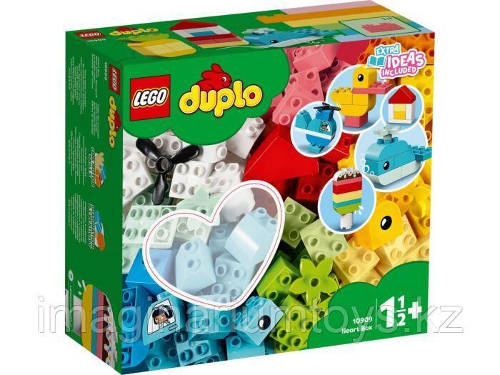 LEGO Duplo конструктор Шкатулка-сердечко 10909