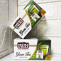 Мери чай (Meri Chai) - зеленый индийский чай, 25 пак*2 гр