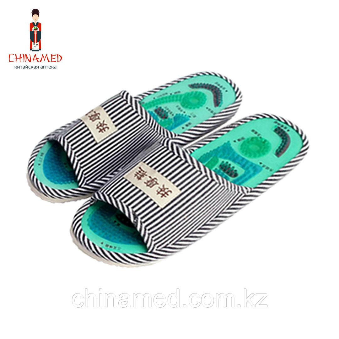 Массажные тапочки Health Feet (синие)