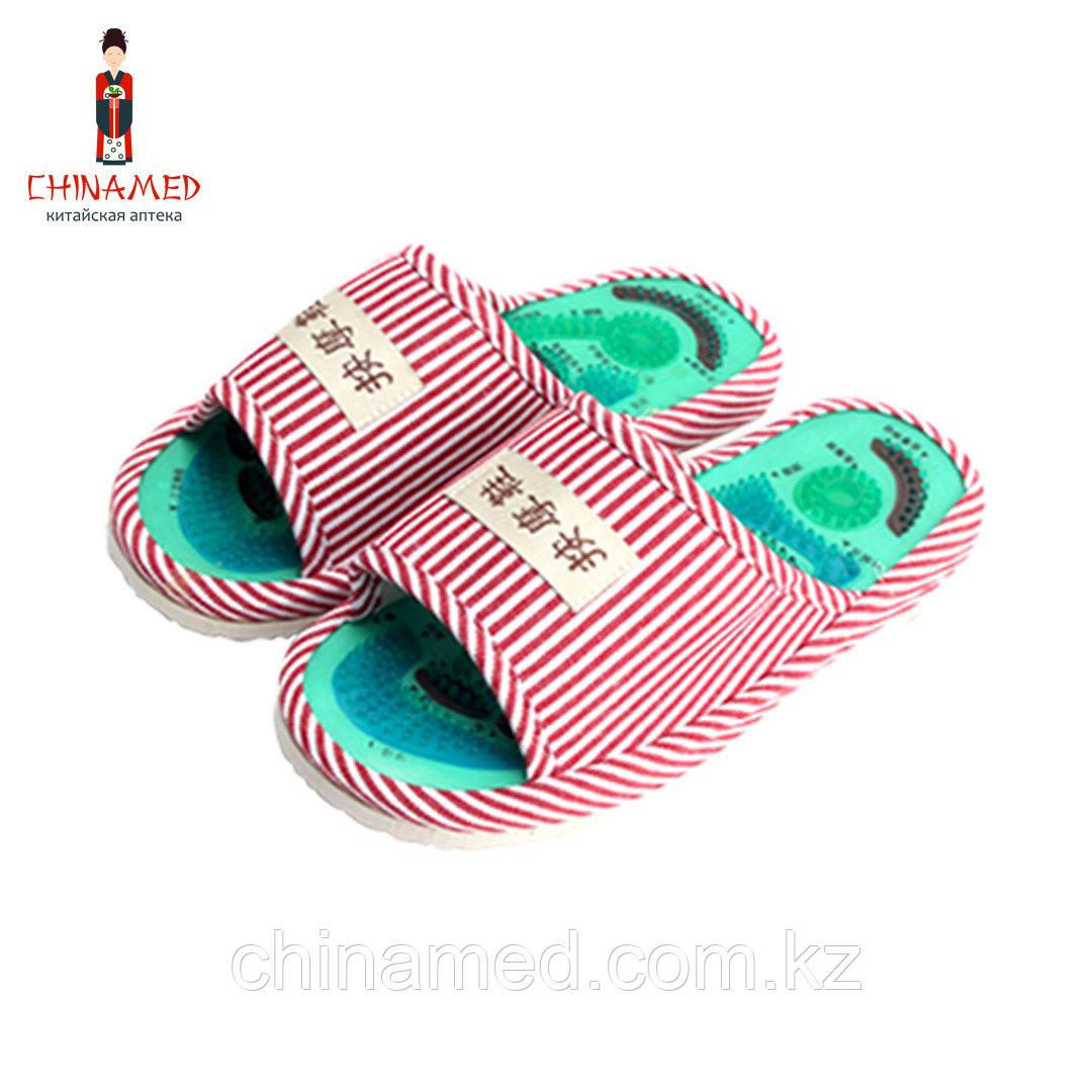 Массажные тапочки Health Feet (розовые)