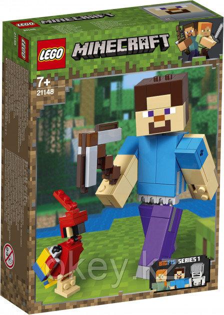 LEGO Minecraft: Стив с попугаем 21148