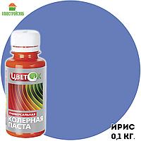 Колерная паста ЦветОК ирис 0,1 кг