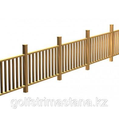 Столб  лиственница 80х80 мм, Экстра