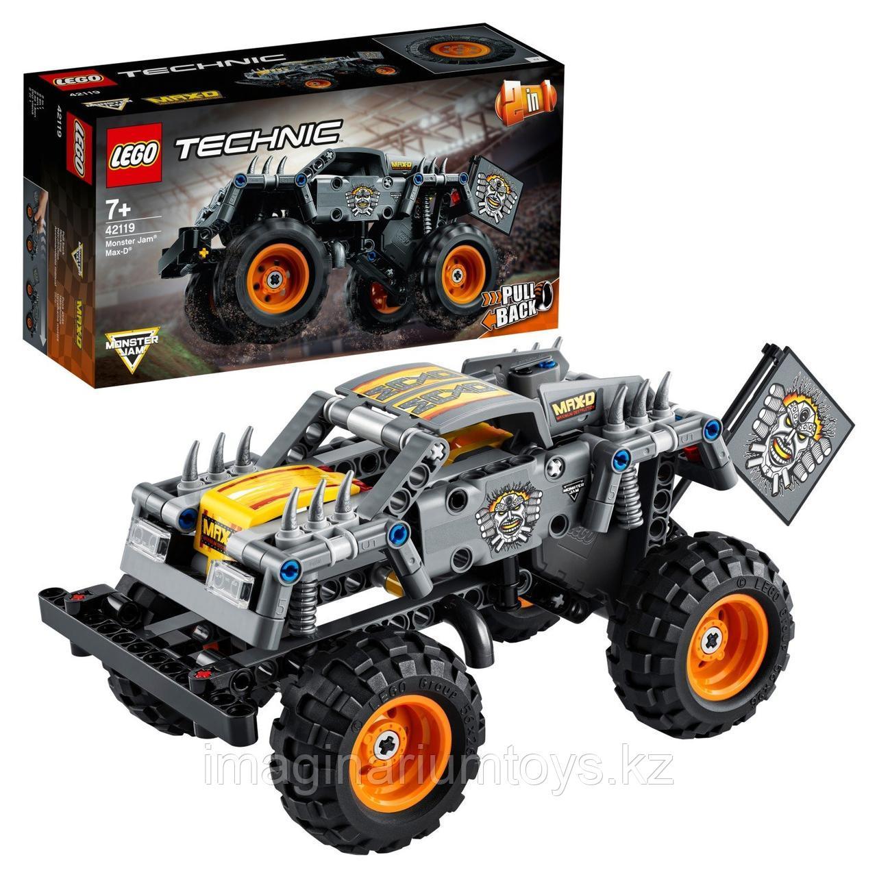 Конструктор LEGO Monster Jam Max-D Technic  42119