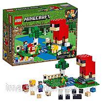 LEGO Конструктор Шерстяная ферма 21153 Minecraft