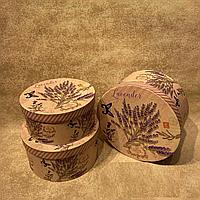 """Подарочные коробки в стиле """"Сирень"""" 3 в 1"""