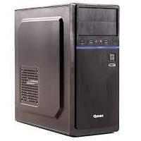 CASE Qmax H330B ATX MidiTower, 2,5* x 2, 3,5*x 4, 5,25* x 2 , Expansion Slots x 7, USB 3.0 x 2, 40,5 х 19 х 41