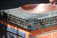 Эксклюзивная отделка металл камень