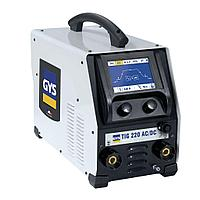 Сварочный аппарат для аргонодуговой сварки GYS TIG 220 AC/DC HF FVА