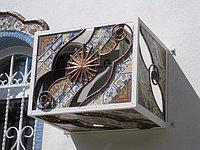 Фасад Отделка декор элементами блок кондиционера