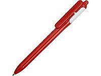 Ручка шариковая цветная, красный/белый
