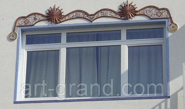 Декор фасада  Алматы