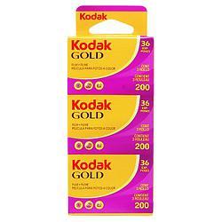 Профессиональная Фотопленка KODAK GOLD 200/36