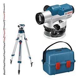 Оптический нивелир BOSCH GOL 32 D+BT160+GR 500 Kit