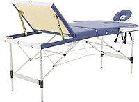 Стол массажный складной Med-Mos JFAL01A 3-х секционный NEW с РУ